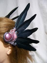 anime hair accessories viking coord