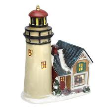 Lighthouse Rugs Christmas Village Light Up Lighthouse Christmas Tree Shops Andthat