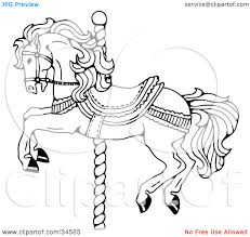 100 ideas carousel animals coloring pages on www gerardduchemann com