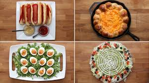 appetizers for halloween 4 easy halloween appetizers youtube