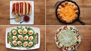 Halloween Appetizer Ideas by 4 Easy Halloween Appetizers Youtube