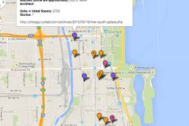 Permit Parking Chicago Map by Interactive Map Tool Visualizes South Loop Development Boom