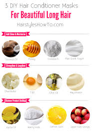 3 diy hair conditioner masks for beautiful u0026 long hair keep your