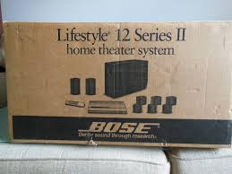 bose lifestyle 25 home theater system bose lifestyle 12 series ii system surround sound system black 5