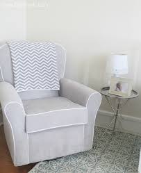 gray nursery glider home design styles