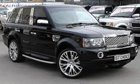 black land rover with black rims used 2008 land rover range rover sport tdv6 sport hse fantastic