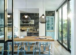luminaire suspendu table cuisine maison en bois en utilisant luminaire suspendu cuisine élégant