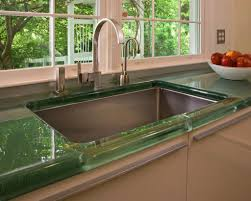 kitchen glass countertops home decoration ideas