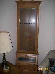 Glass Gun Cabinet Wts Wtt Glass Front Gun Cabinet