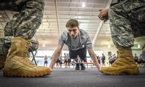 study texas kids physically unfit military stripes okinawa