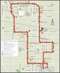 Metrolink Los Angeles Map by Dash Panorama City Van Nuys Ladot Transit Services