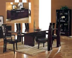 modern contemporary dining room sets fair design inspiration cheap