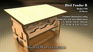 Bird Table L Bird Feeder B 3d Assembly Animation 1080hd