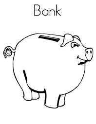 draw piggy bank coloring color luna