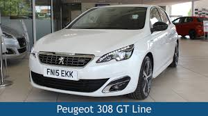 peugeot 308 2015 peugeot 308 gt line 2015 review youtube