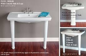 pedestal sink with legs vintage porcelain sink legs sink ideas