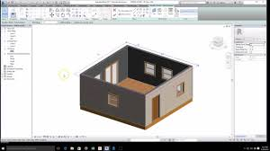Simpel House by Revit Start Of Arch Simple House Roof And Gable Wall Youtube