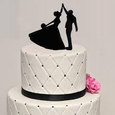 aliexpress com buy wedding acrylic dancing cake topper wedding