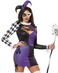 Jester Halloween Costume Jester Costume Purple Jester Women U0027s Harlequin Costume Dress