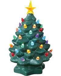 ceramic christmas tree light kit amazing deal on nostalgic ceramic christmas tree led lighted mini