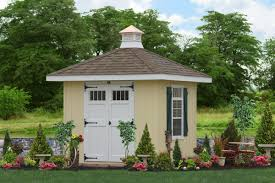 beautiful hip roof sheds and garages from the amish great prices