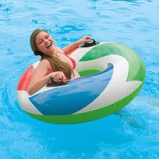 Intex Inflatable Swimming Pool 85 Off Intex Inflatable Donut Tube Pool Float Www Hettweb Com