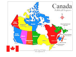 Map Of Canada And Usa by Ontimezonecom Time Zones For The Usa And North America United At