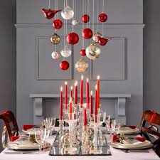 dining table christmas decorations 60 christmas dining table decor in and white family