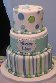 ideas of simple baby shower cakes gender neutral aqua red baby