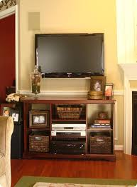 Wall Mounted Tv Cabinet With Doors Before And After Party A Tv Cabinet Redo From Thrifty Decor