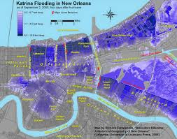 New Orleans Ward Map by Urban Geographies Cities Places Regions