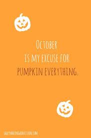 october means pumpkin flavored everything pumpkin recipes