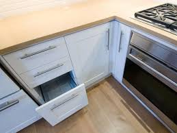 contemporary kitchen drawer and storage with cabinets 4411