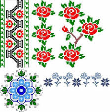 advanced embroidery designs floral border set i