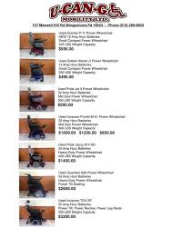 Used Power Wheel Chairs U Can Go Mobility Ucango Mobility Twitter