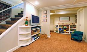 surprisingly placement of flooring ideas for basement collection