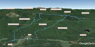 Green Circle Trail Map Meader Ridge
