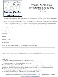 kindergarten progress report template kindergarten academy 2017 vendor application southeast area kindergarten academy 2017 vendor application