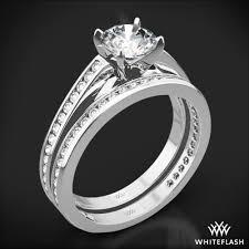 white gold wedding sets honey channel set diamond wedding set 2354