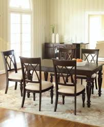 macys dining room sets bradford 7 piece dining room furniture set