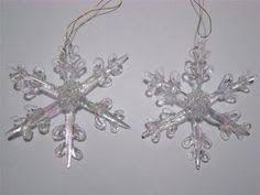 vintage blown spun glass ornament lot 7