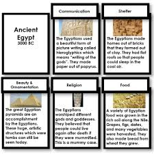 montessori writing paper ancient civilizations fundamental needs research cards ancient civilizations fundamental needs research cards