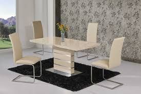 White Glass Extending Dining Table Home Design Breathtaking High Gloss Dining Tables Room Cool
