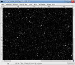 create a cool starfield u2014 tutorials u2014 gimpusers com