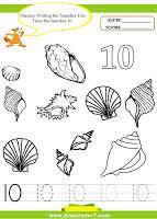 number 10 worksheets for prek numbers to 10pre k math worksheets