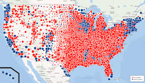 Early Election Results Map by Obama Vs Romney A Closer Look At Voter Influences The Official