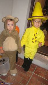 Curious George Halloween Costumes Man Yellow Hat Costume Photo 3 3