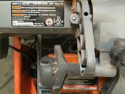 Rigid 7 Tile Saw Stand by Ridgid R4040 8 In Tile Saw Without Stand R4040 What U0027s It Worth