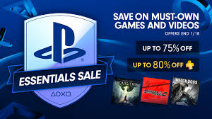 playstation store black friday 2017 playstation essentials sale up to 75 off must have games