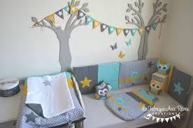 deco chambre gris et jaune deco chambre gris et jaune idee vert bleu tour lit decoration linge